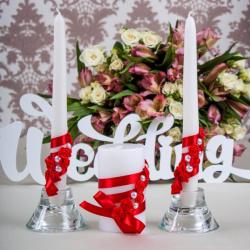 Свадебные свечи «Красотка»