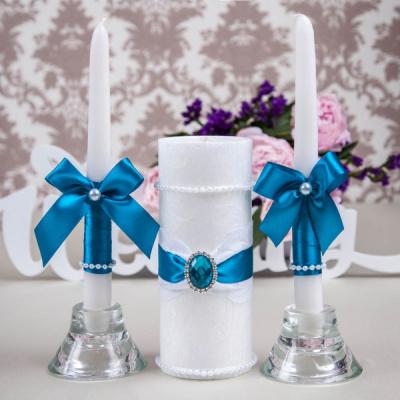 Свадебные свечи «Лазурь»