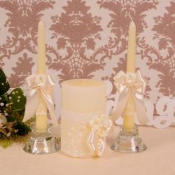 Свадебные свечи «Счастье»