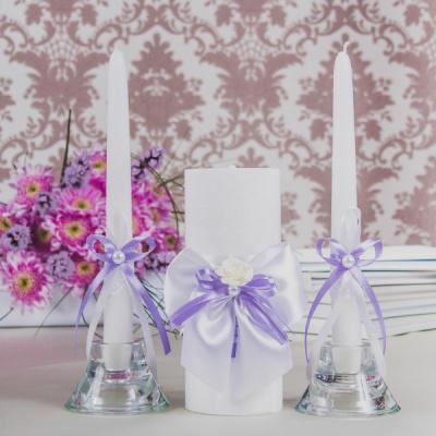 Свадебные свечи «Виолетта»