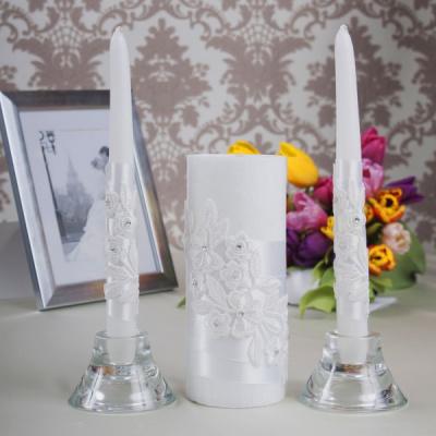 Свадебные свечи «Белоснежка»