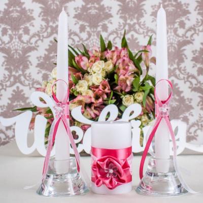 Свадебные свечи «Коралл»